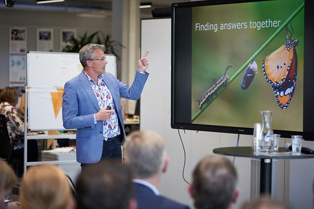 Ernst van den Ende, Managing Director Plant Sciences Group, Wageningen University & Research. Foto Oscar Vinck.